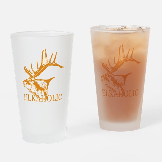 Elkaholic o Drinking Glass