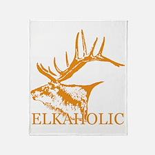 Elkaholic o Throw Blanket