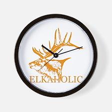 Elkaholic o Wall Clock