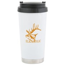 Elkaholic o Travel Coffee Mug