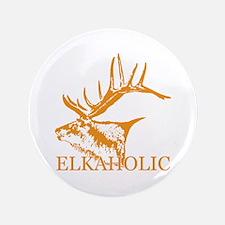 "Elkaholic o 3.5"" Button"