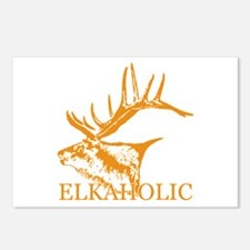 Elkaholic o Postcards (Package of 8)