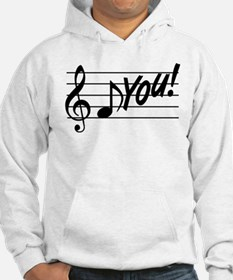 Music Note F You Hoodie