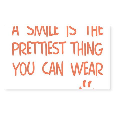 Wear a Pretty SMILE - Happy Face Sticker