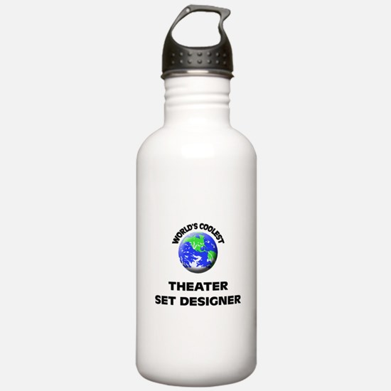 World's Coolest Theater Set Designe Water Bottle
