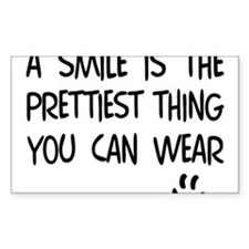 Wear a Pretty SMILE - Happy Face Decal