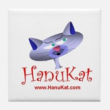 HanuKat Tile Coaster