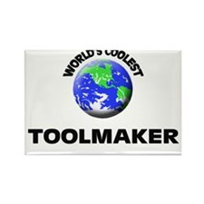World's Coolest Toolmaker Rectangle Magnet