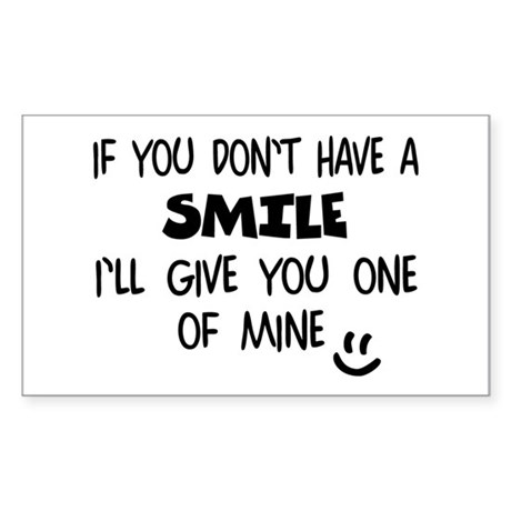 Give My SMILE - Happy Face Sticker