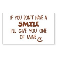 Give My SMILE - Happy Face Decal