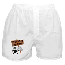 Keep off the Grass Boxer Shorts