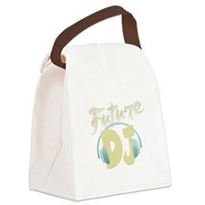 FutureDJ.png Canvas Lunch Bag