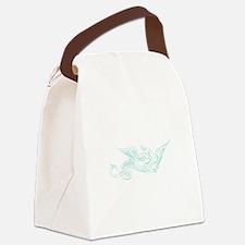 SwirlyDragon.png Canvas Lunch Bag