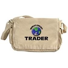 World's Coolest Trader Messenger Bag