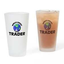 World's Coolest Trader Drinking Glass