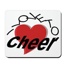 I Love To Cheer Mousepad