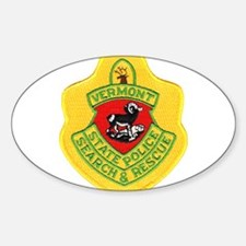 Vermont Search & Rescue Oval Decal