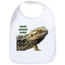 Proud Beardie Lover Bib