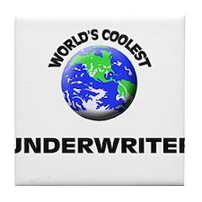 World's Coolest Underwriter Tile Coaster