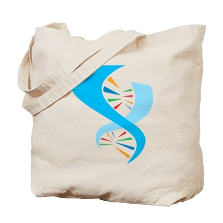 DNA Molecule Tote Bag