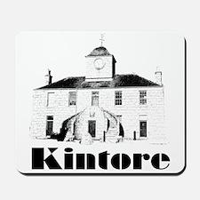 Kintore Town House (black print) Mousepad