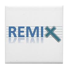 REMIX Band Logo Tile Coaster