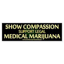 Compassion Medical Marijuana Bumper Bumper Sticker
