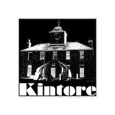 Kintore Town House (white print) Sticker
