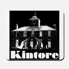 Kintore Town House (white print) Mousepad