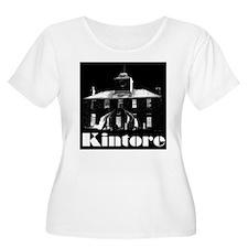 Kintore Town House (white print) Plus Size T-Shirt