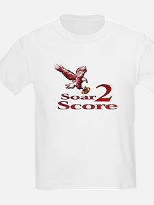 Eagle Soar 2 Score Kids T-Shirt