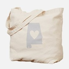 Heart Alabama Tote Bag