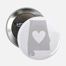 """Heart Alabama 2.25"""" Button"""