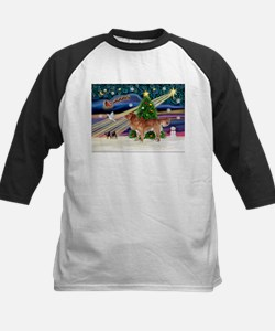 XmasStar/Nova Scotia dog Kids Baseball Jersey