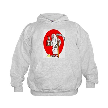 Father Time Losing Time New y Kids Hoodie