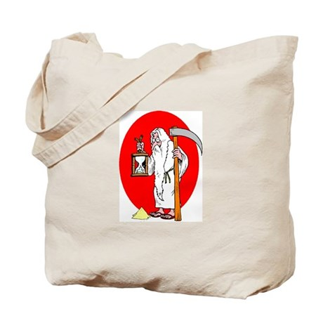 Father Time Losing Time New y Tote Bag