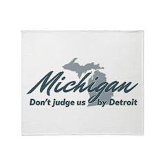 Michigan Dont Judge Throw Blanket
