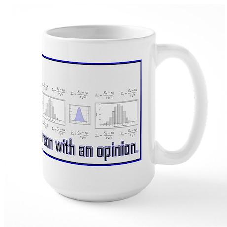 Without Data... Large Mug