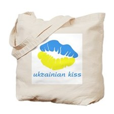 [ukrainian kiss] Tote Bag