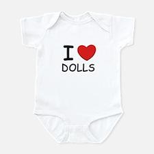 I love dolls Infant Bodysuit