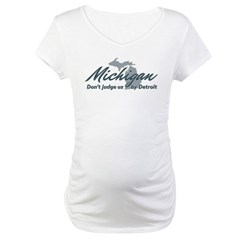 Michigan Dont Judge Shirt