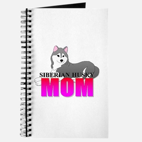 Gray Siberian Husky Mom Journal
