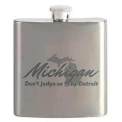 Michigan Dont Judge Flask