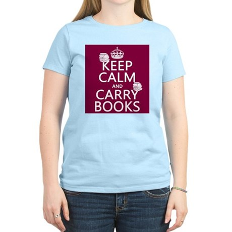 Keep Calm and Carry Books T-Shirt