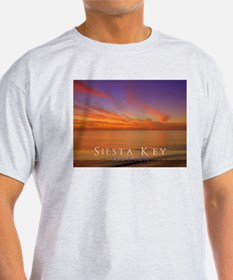 Siesta Key Florida Blue Orang T-Shirt