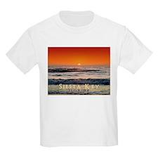Siesta Key Florida Orange Sun T-Shirt