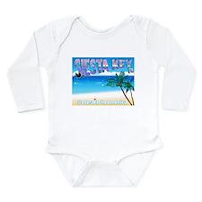 Siest Key, FL #1 Beach in Ame Long Sleeve Infant B
