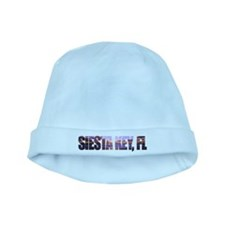 Siesta Key Sunset Logo baby hat
