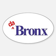 Da Bronx Oval Decal