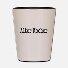 ALTER KOCHER Shot Glass